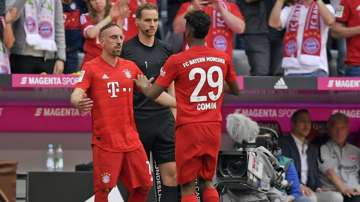 Abschieds-Wahnsinn in München: Ribéry und Robben treffen
