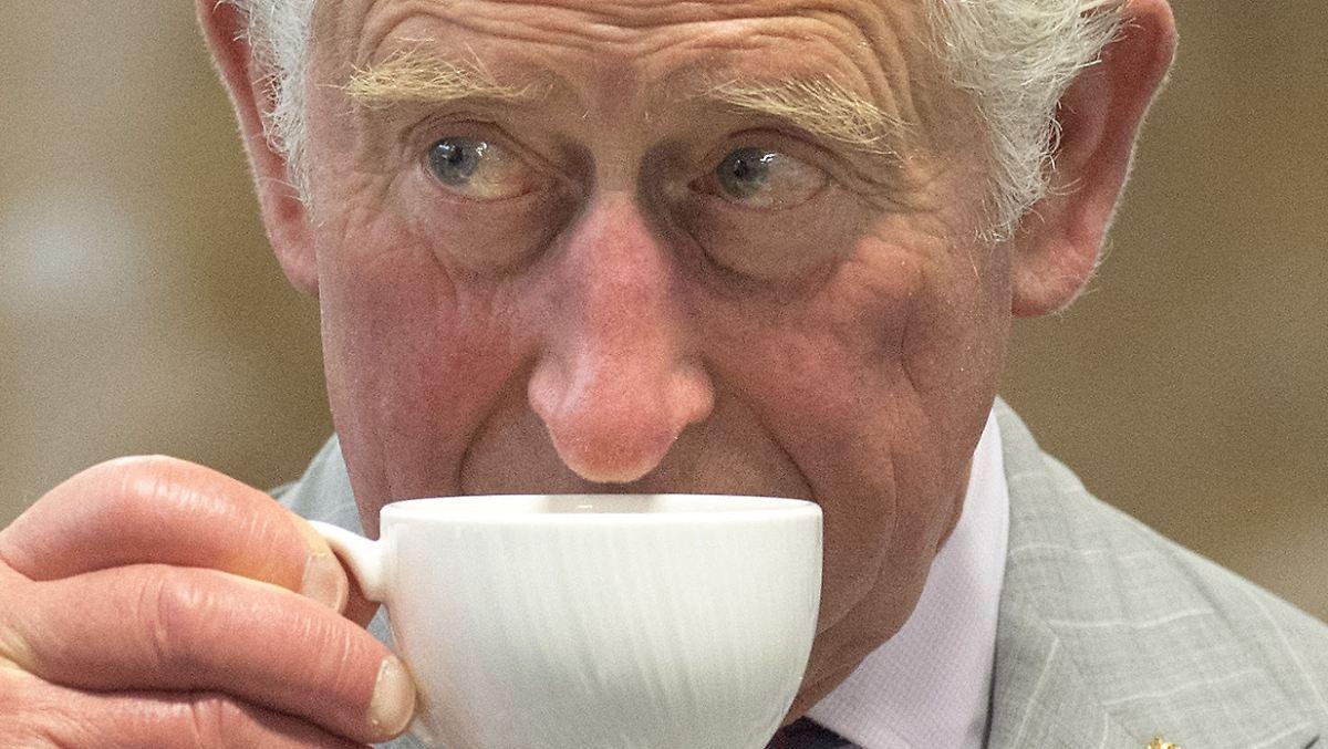 Prinz Charles empfängt Trump zum Tee