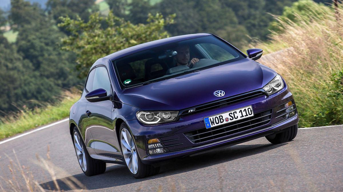 VW Scirocco - nicht praktisch, aber sportlich