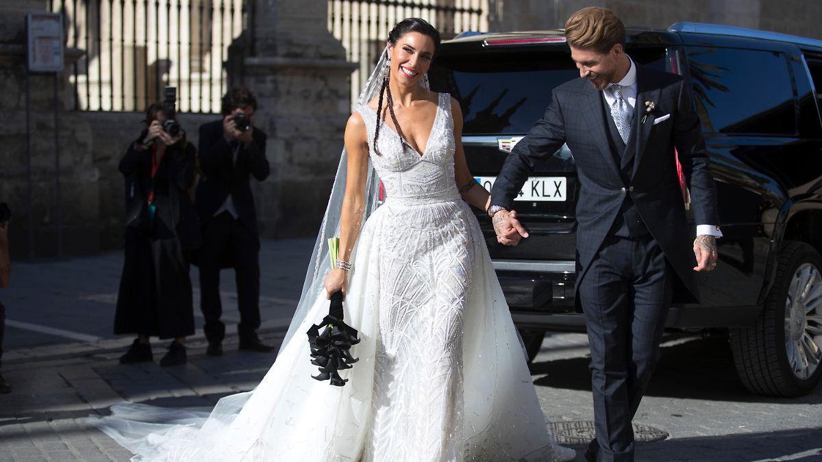 Sergio Ramos und Pilar Rubio heiraten