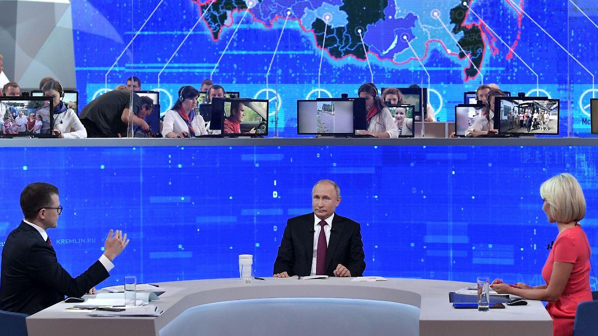 Putin lädt Russen zur Gruppentherapie ein