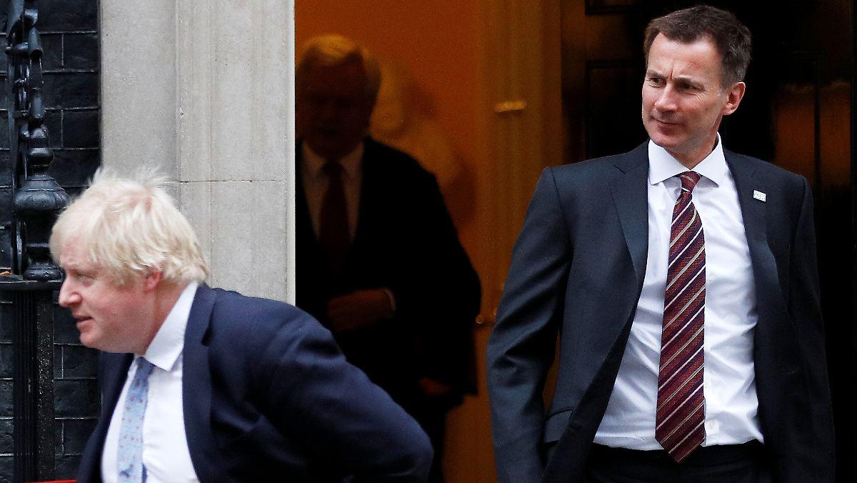 Tories haben Wahl zwischen Johnson und Hunt