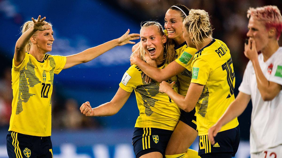 Abwehrstarke Schwedinnen fordern DFB-Elf