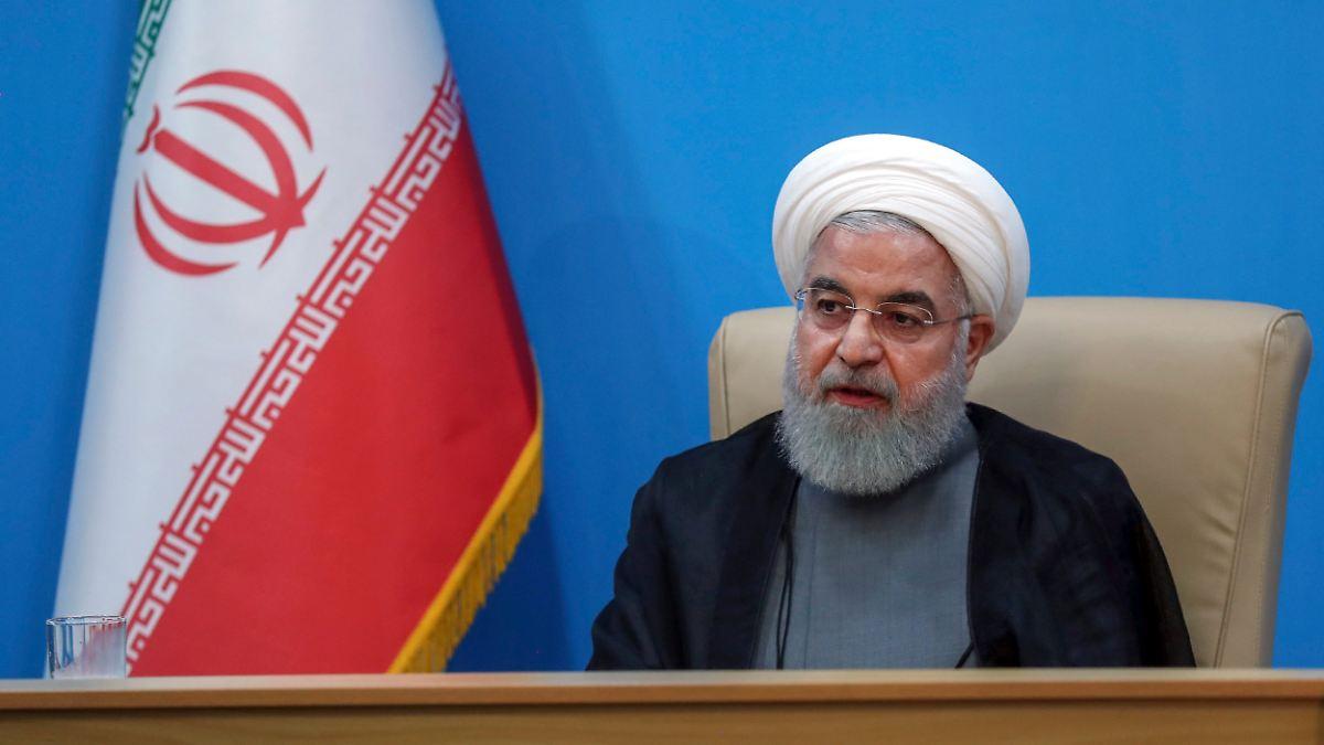 Ruhani: Iran will keinen Krieg mit den USA