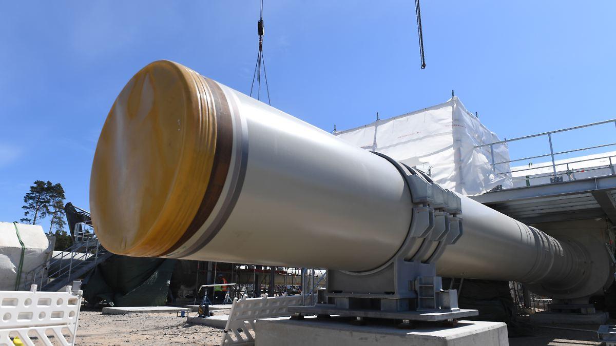 Nord Stream 2 begräbt Dänemark-Route