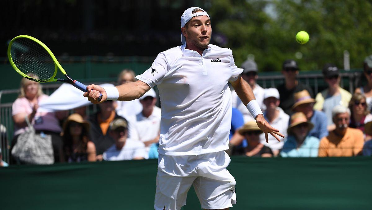 Struff erlebt dramatisches Wimbledon-Aus