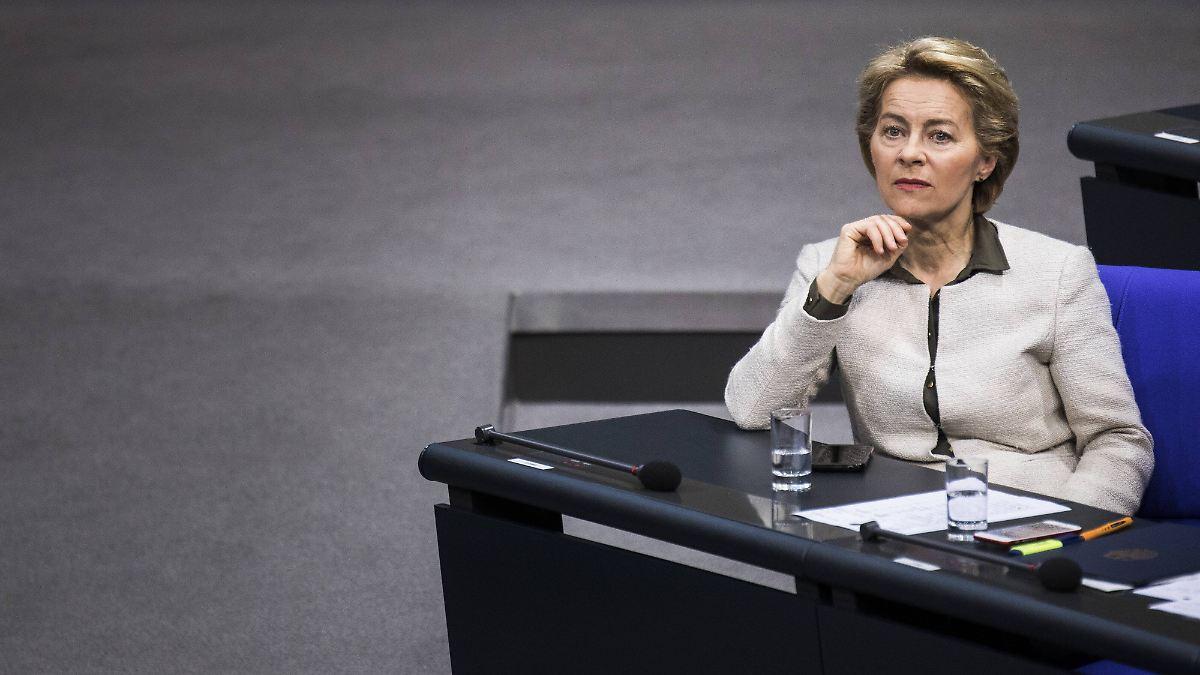 Diese Frau strebt nach Brüssel