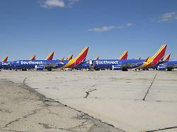 Anleger bleiben entspannt: 737-Debakel reißt Boeing in die roten Zahlen