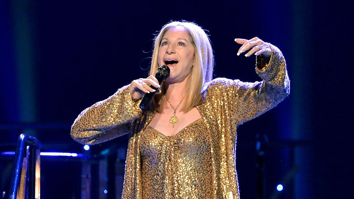 Promi-Aufgebot bei Streisand-Konzert