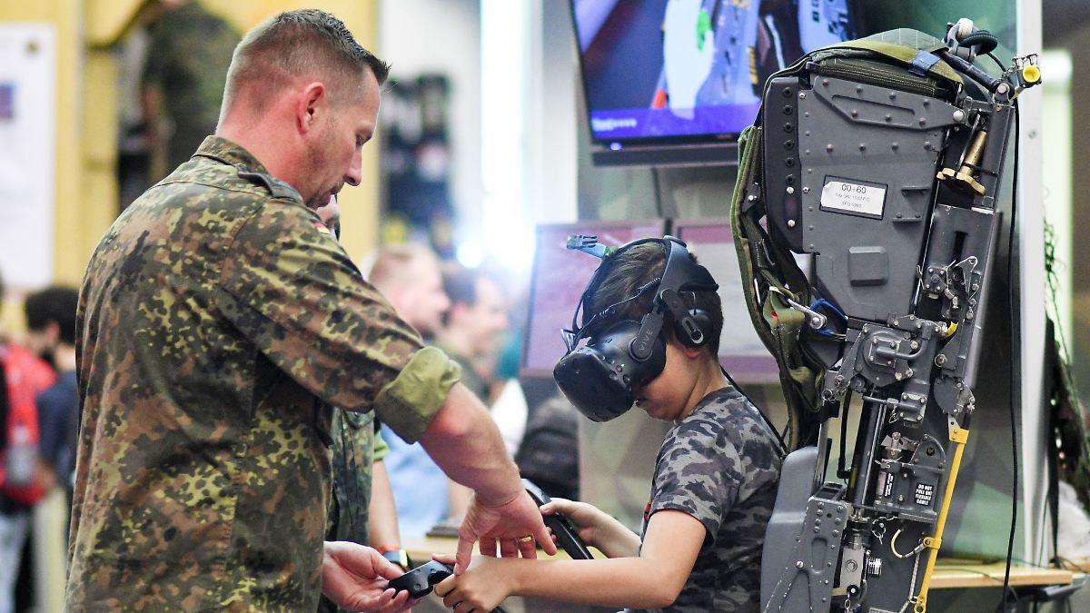 Bundeswehr polarisiert auf der Gamescom