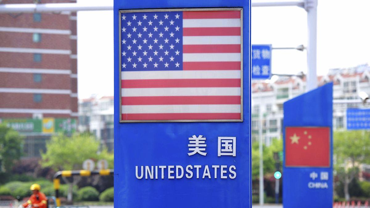 China warnt US-Firmen vor Rückzug