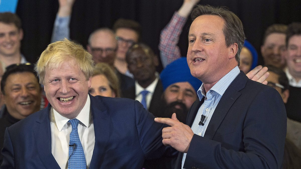 Cameron schreibt sich den Brexit schön