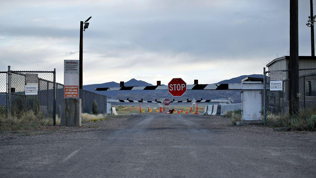 """Polizei nimmt zwei Youtuber in """"Area 51"""" fest"""