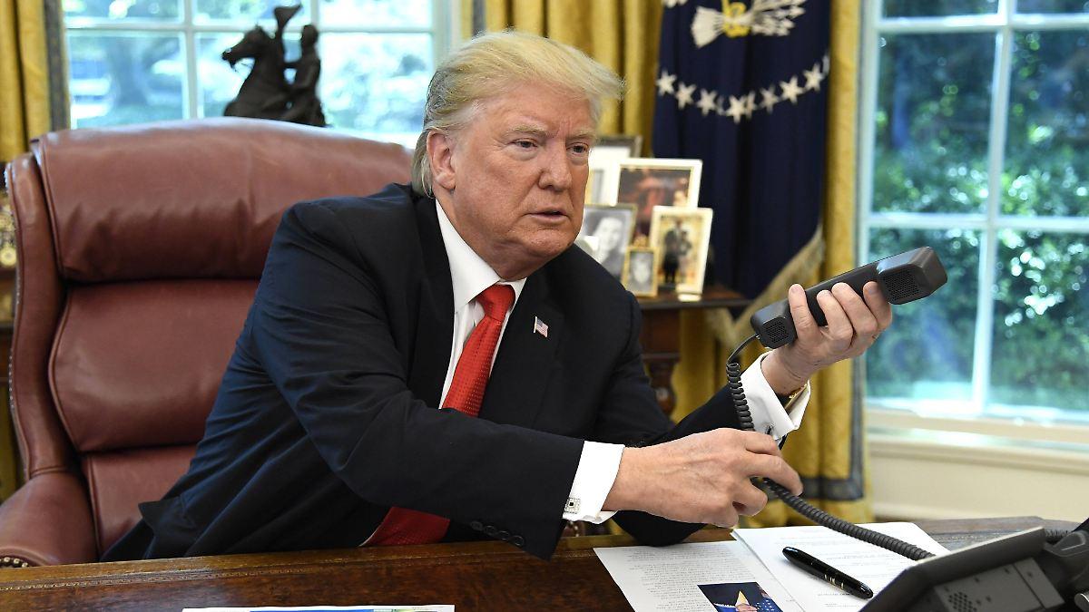 Informant soll Trump angeschwärzt haben