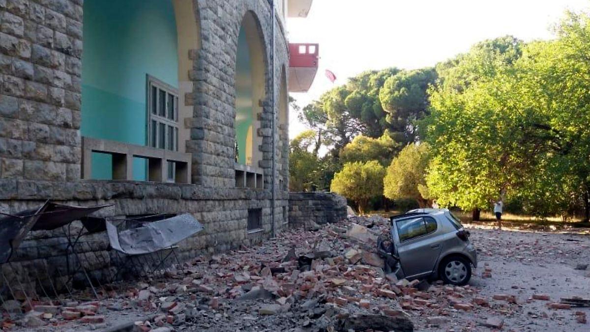 Erdbeben erschüttern Albanien