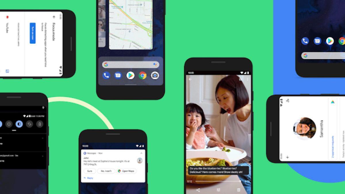 Welche Smartphones erhalten Android 10?