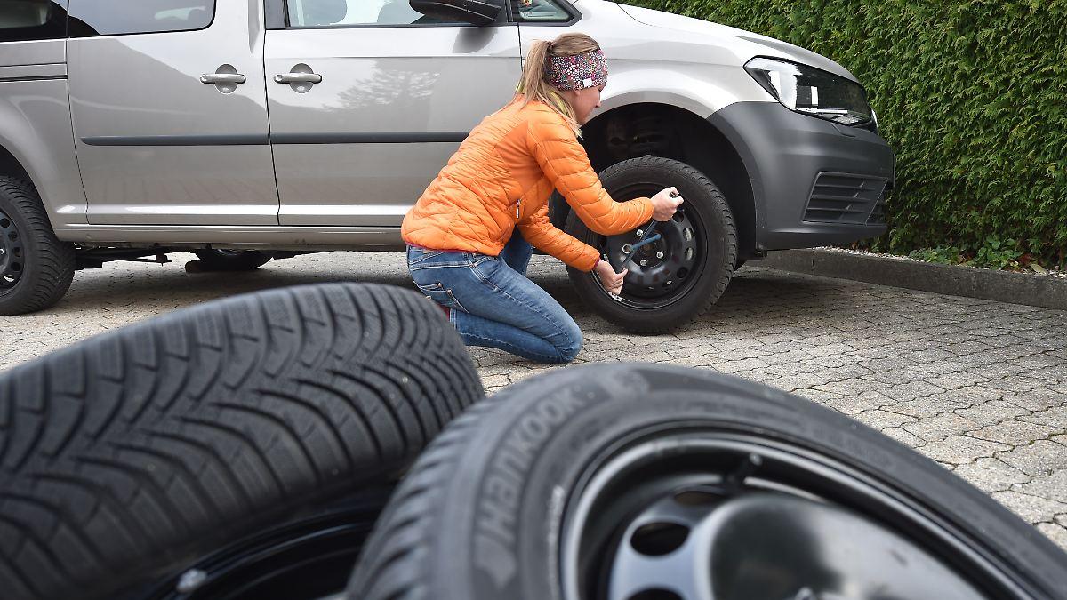 Schmalere Reifen fahren im Schnee besser