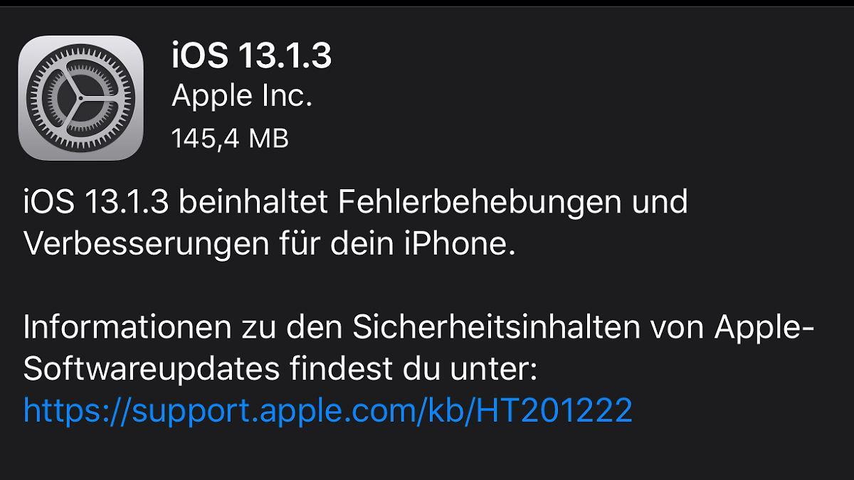 Hat Apple mit iOS 13 ein größeres Problem?