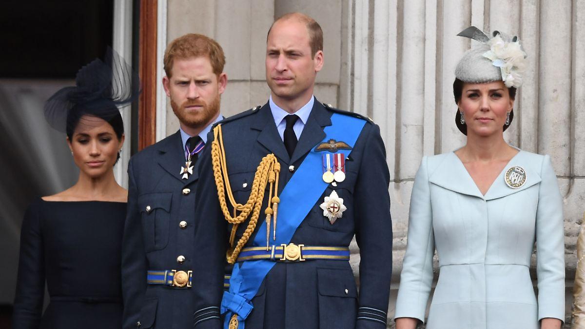 Prinz William sorgt sich um Harry und Meghan