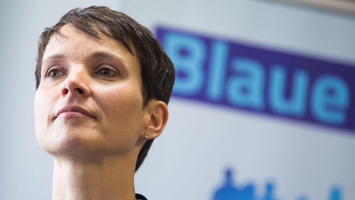 Frauke Petry schwört der Politik ab
