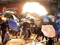 Proteste in Hongkong: So sieht die belagerte Uni aus dem All aus