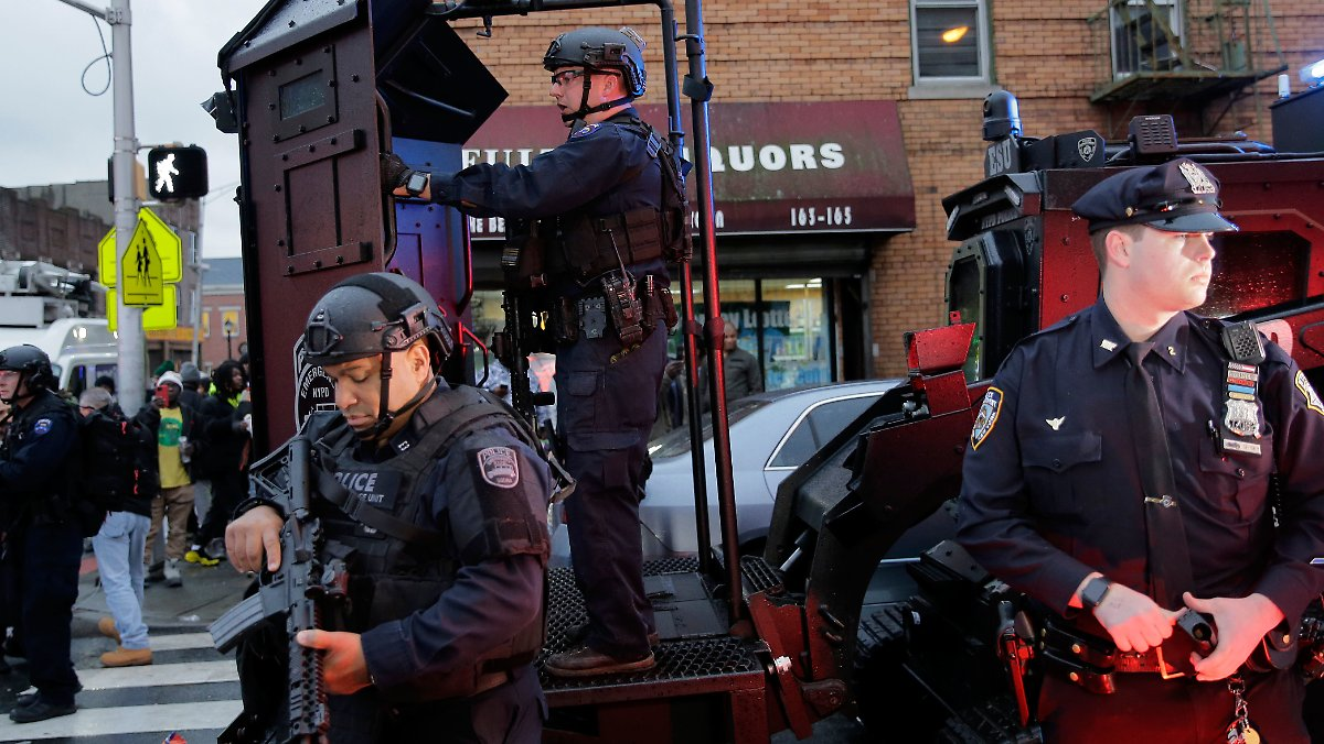 Sechs Menschen sterben nahe New York
