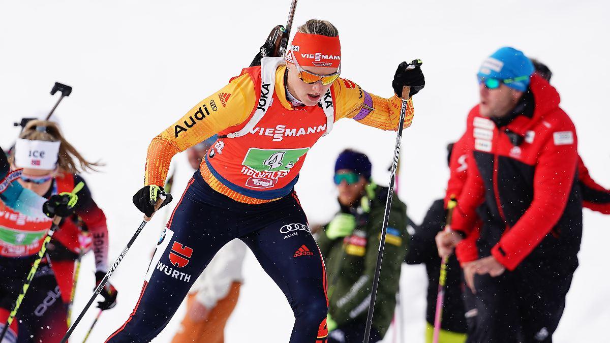 Staffel Biathlon Frauen