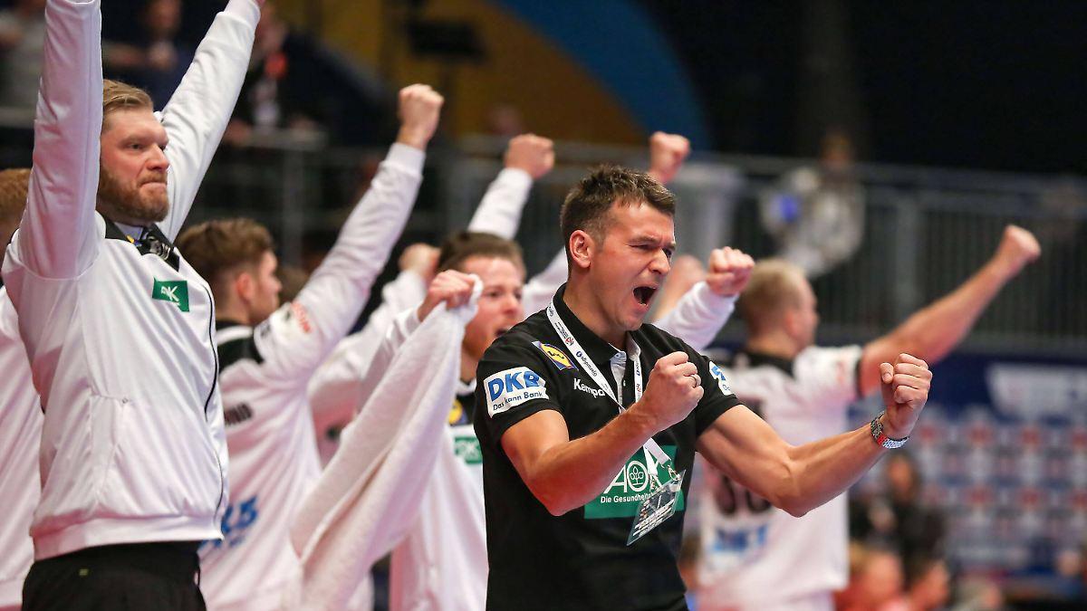 Deutsches Team begeistert gegen Kroatien