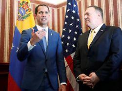 Guaidó trifft Pompeo: USA wollen Druck auf Maduro erhöhen