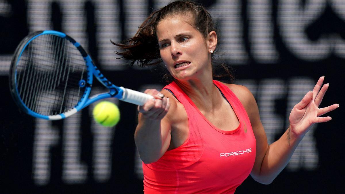 Görges bleibt bei Australian Open in Topform