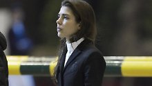 Reitet bereits in Gucci: Charlotte Casiraghi.