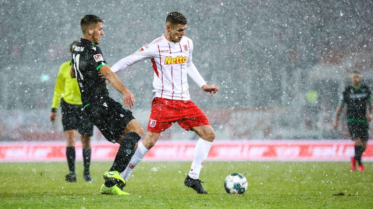 Jahn Regensburg lässt Hannover 96 abblitzen