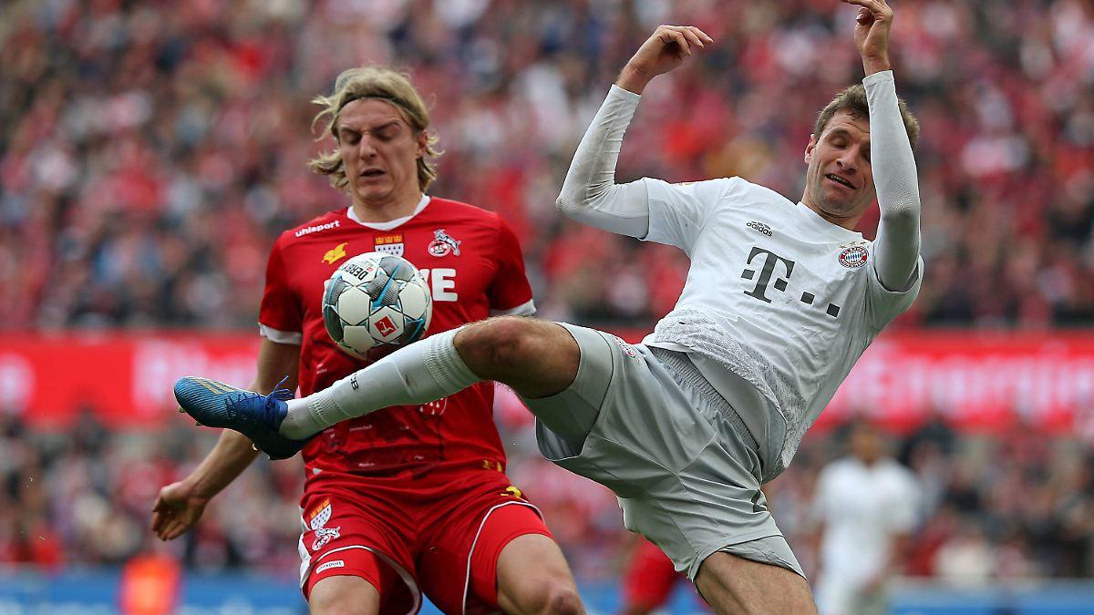 Der FC Bayern blamiert Köln in zwölf Minuten