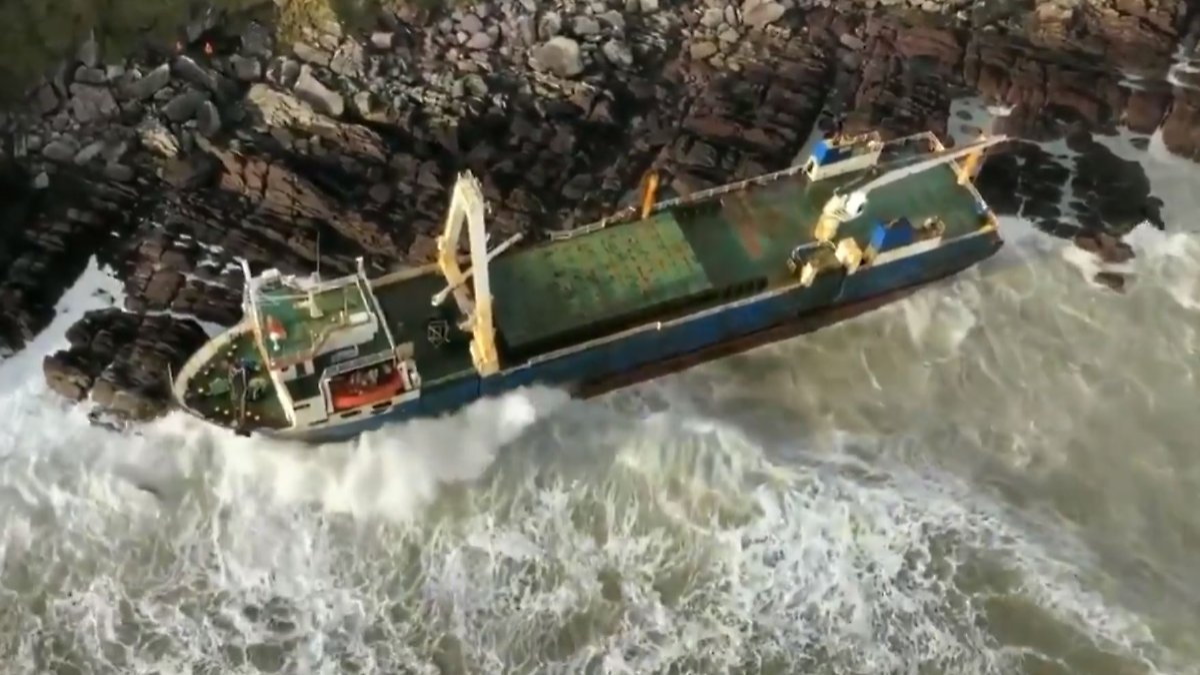 Geisterschiff stellt Iren vor Rätsel