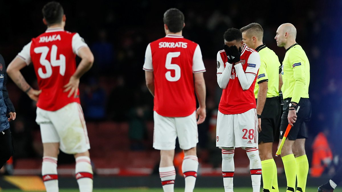 Arsenal blamiert sich in der Europa League