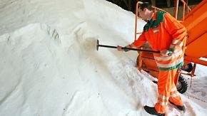 K + S profitiert vom Winterwetter: Deutschen Städten geht das Salz aus