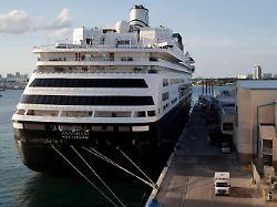 Zaandam hat angelegt: Kreuzfahrt-Albtraum endet in Florida