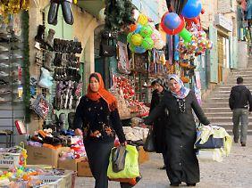 Bethlehem hat etwa 28.000 Einwohner, ein Viertel davon sind Christen.