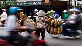 Alltäglicher Wahnsinn in Hanoi: Wie Vietnam  mit dem Verkehr kämpft