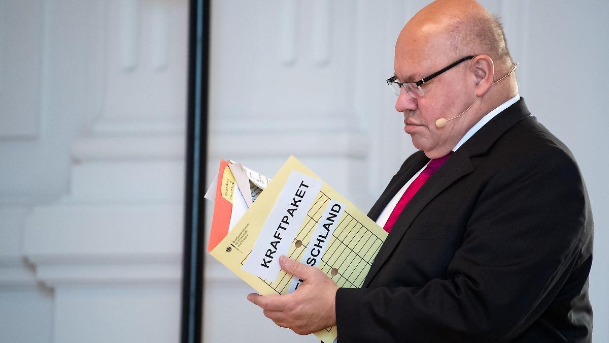 """Altmaier stählt sich zum """"Kraftpaket"""""""