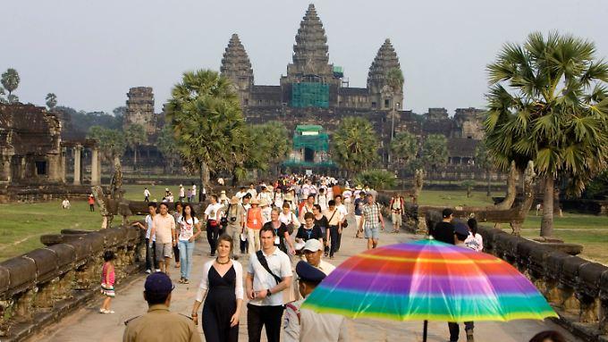 Angkor Wat steht seit 1992 auf der Weltkulturerbeliste der UNESCO.
