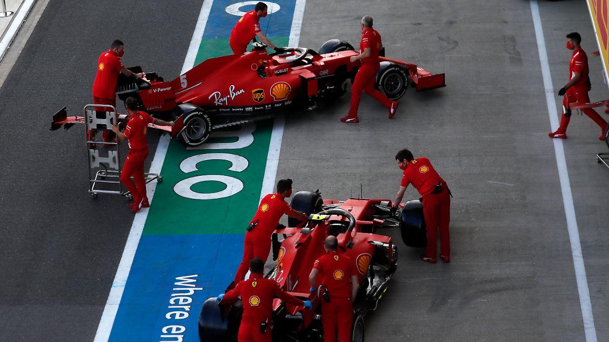 Ferrari und Vettel quälen sich gegenseitig