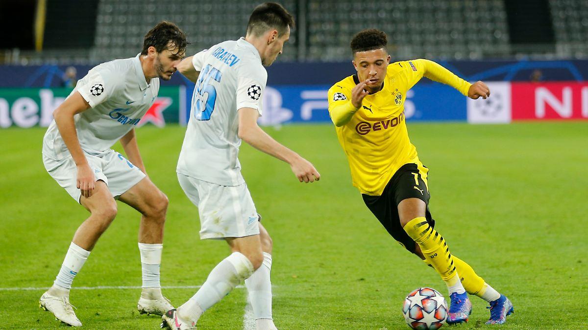 Sancho und Haaland erlösen den BVB spät
