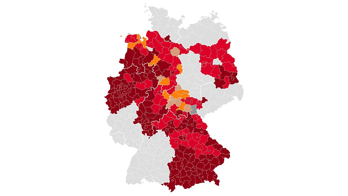 Virus Lage In Den Bundeslandern Die Aktuellen Corona Daten Des Tages N Tv De