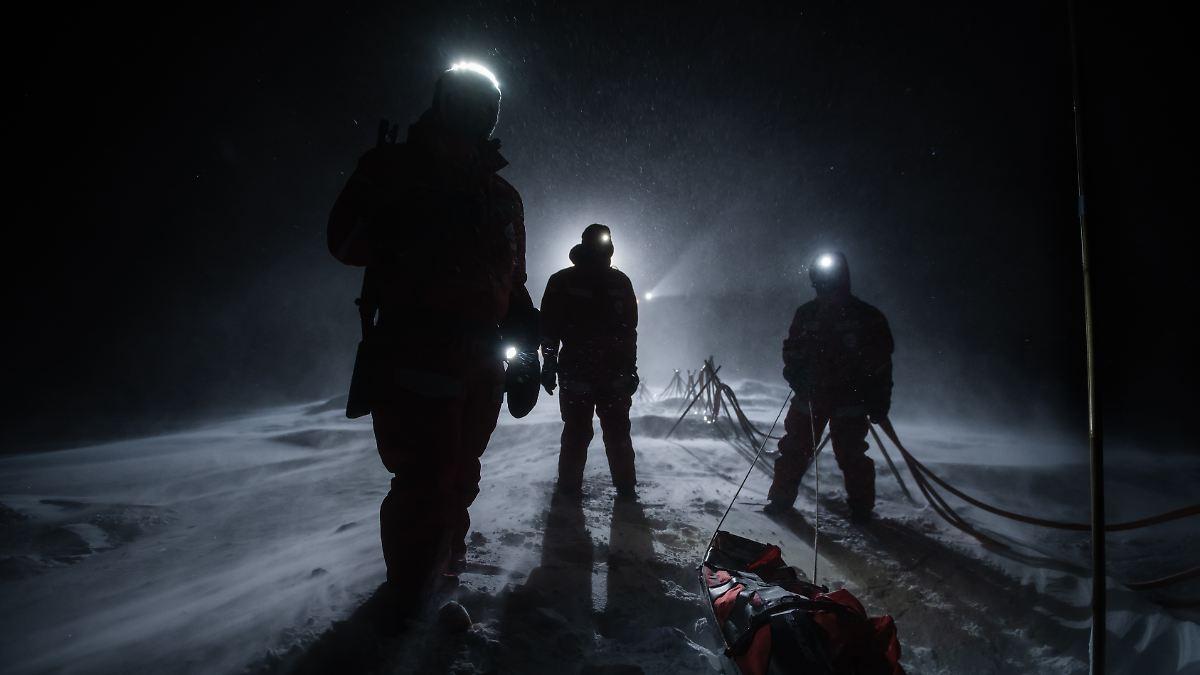 """""""Die Ruhe der Polarnacht macht süchtig"""""""