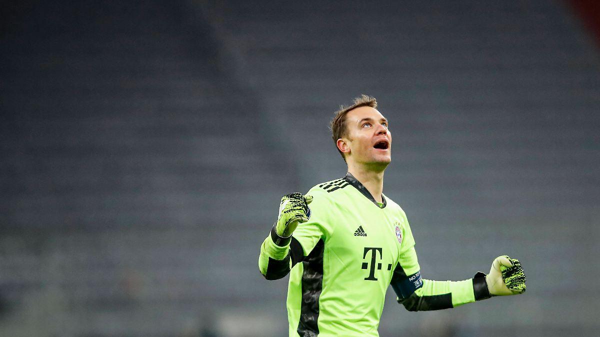 Der Lebensretter des FC Bayern: Flick beklagt viel zu viel Arbeit für Neuer