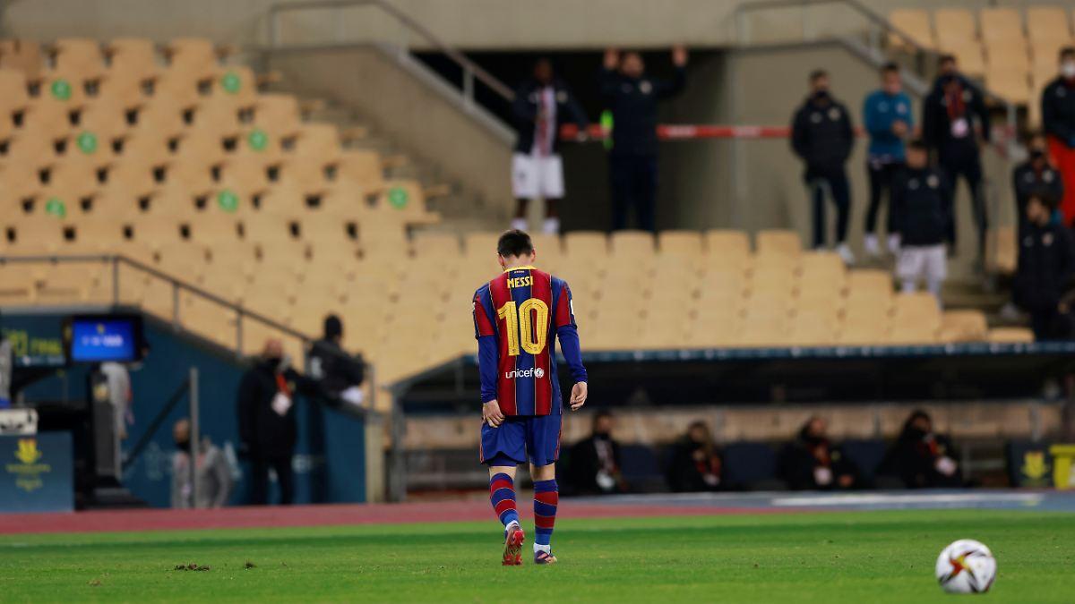 Photo of Platzverweis für Messi: Barca versiebt Supercup-Finale | n-tv NACHRICHTEN