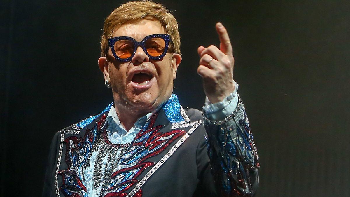 Künstler-Hilfe gefordert:Elton John kämpft weiter - n-tv NACHRICHTEN