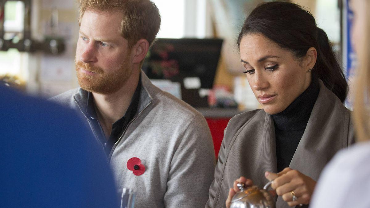 Was ist mit der Thronfolge?:Diese Ämter geben Harry und Meghan ab - n-tv NACHRICHTEN