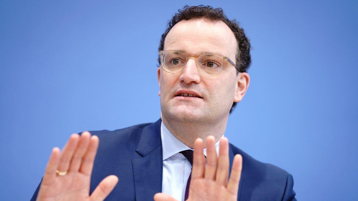 Start im März zu ambitioniert:Spahn bekommt Druck wegen Schnelltests - n-tv NACHRICHTEN